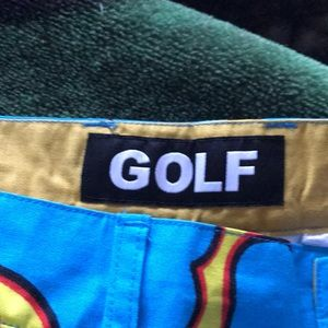 24724dd9e37f golf wang Pants - Golf Wang blue flame pants